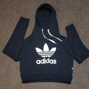 Adidas Trefoil Crop Hoodie